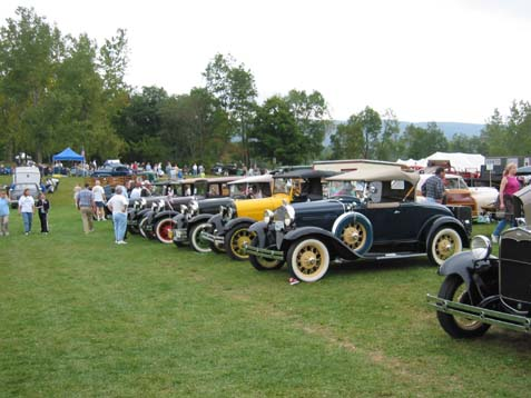 Th Annual Bennington Vermont Antique Classic Car Show Sept - Antique car show